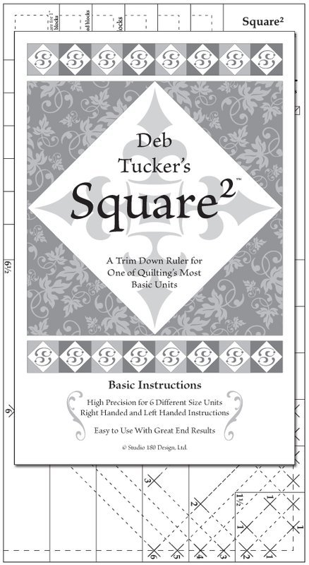 Square Squared by Deb Tucker - Studio 180 Design
