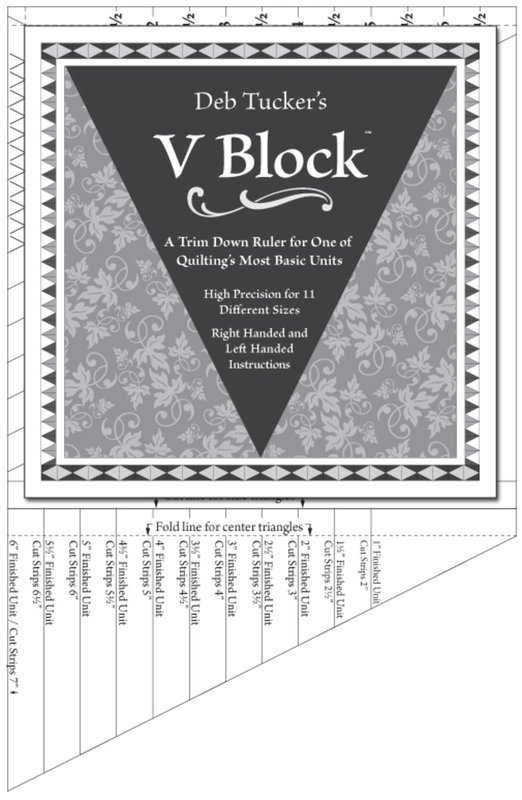 V-Block Trimmer by Deb Tucker's Studio 180 Design
