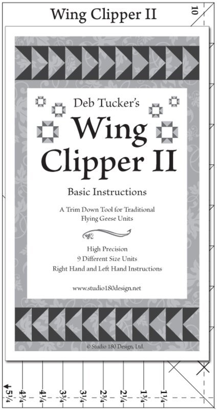 Wing Clipper II by Deb Tucker's Studio 180 design