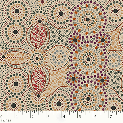 M&S  Australian Import - Spirit Place Ecru by Bernadene Wallace