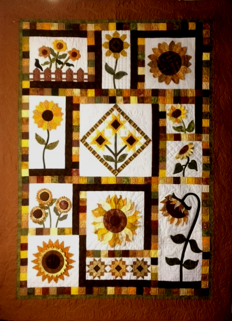 Sunflower Sampler Block of the Month