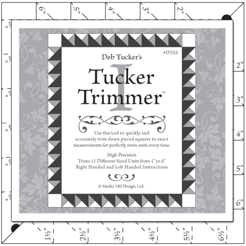 Tucker Trimmer I, Deb Tucker's Studio 180 Design