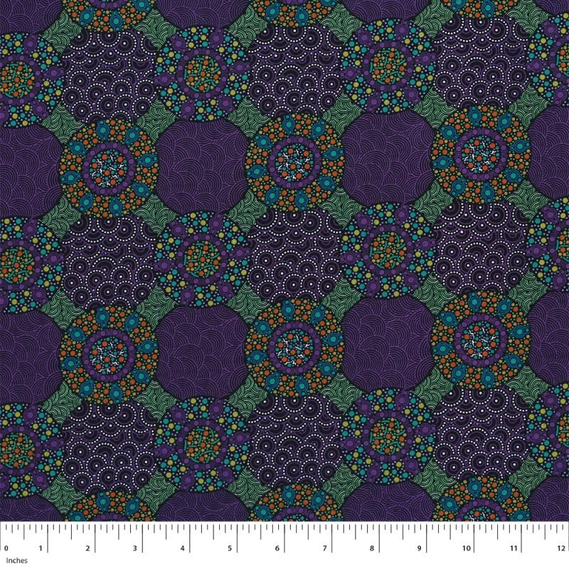 M & S Wildflowers & Bush Tuckers Purple WFBTP