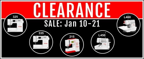 bernina jan clearance