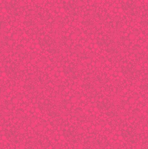 Sun Print 8137 R Endpaper Red