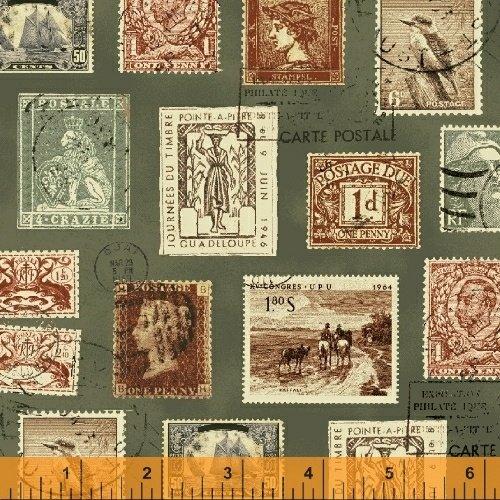 Longfellow Stamps 41522 5 Green