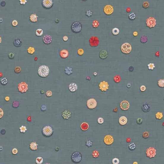 Buttons on Linen TP1703-B