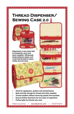 Thread Dispenser/Sewing Case 2.0