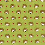 Hedgehog Heaven CX4330 Lime