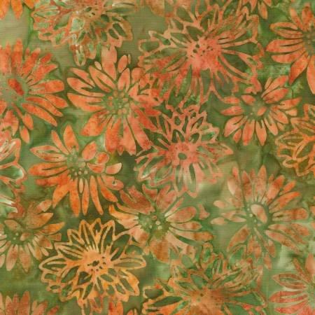 Harvest Sunflower Batik