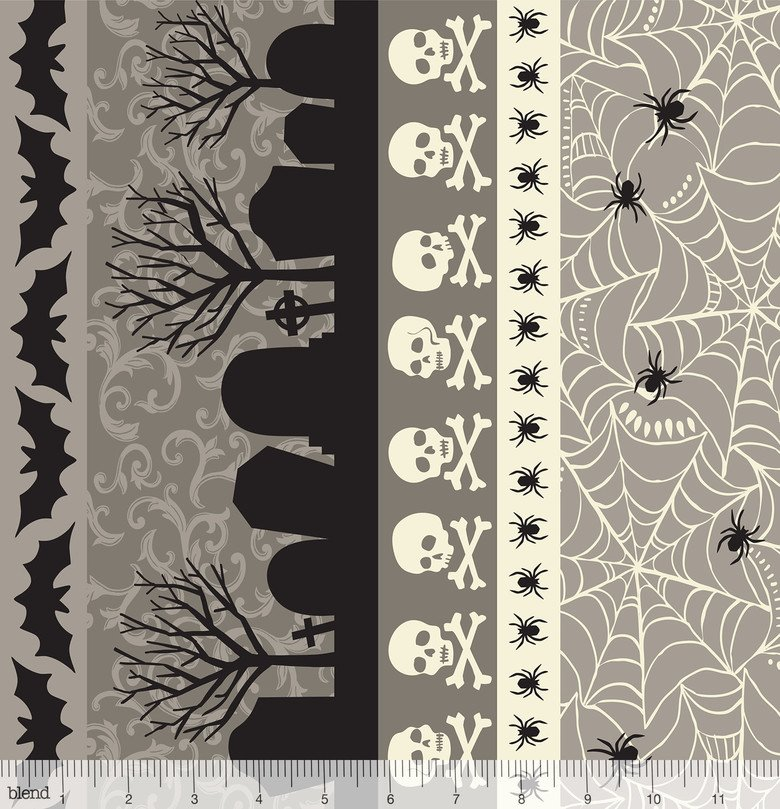 Spooktacular 15.2 Stripe Grey