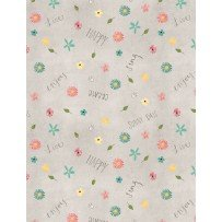 On the Road Again 54508 945 Small Floral Gray