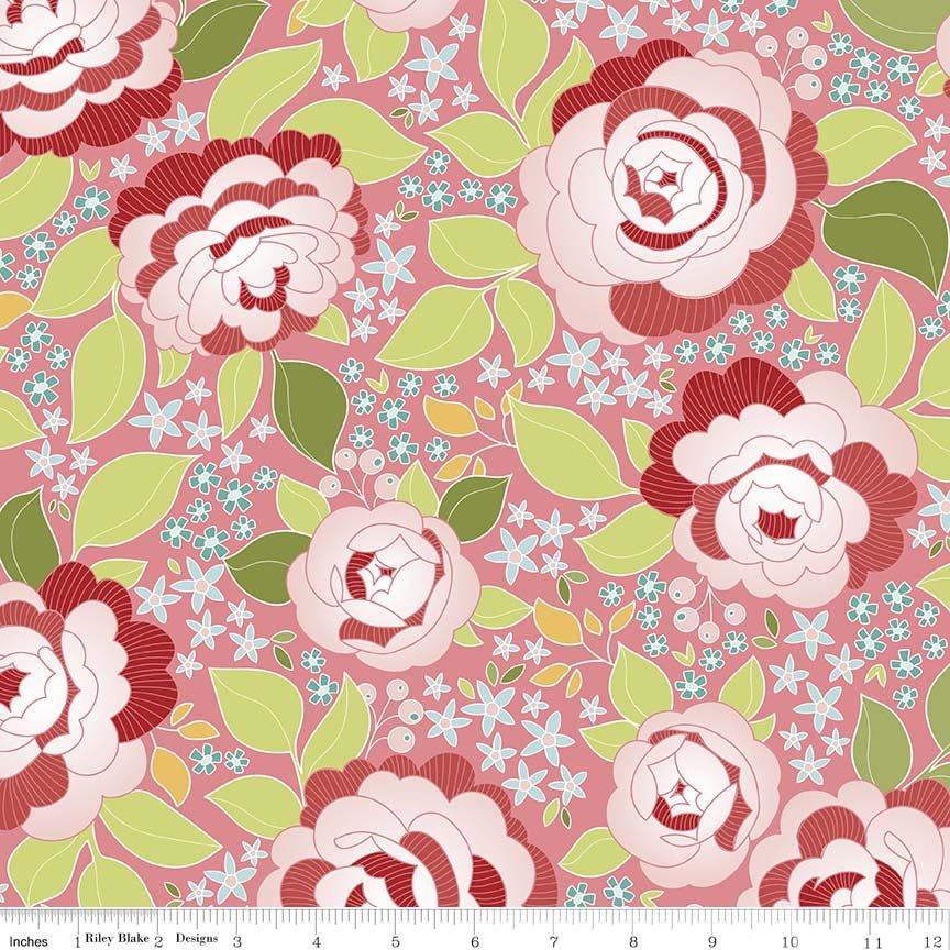 Garden C5590 Pink Main
