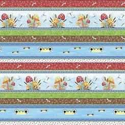 Pond Party 24915 X Pond Party Decorative Stripe Multi