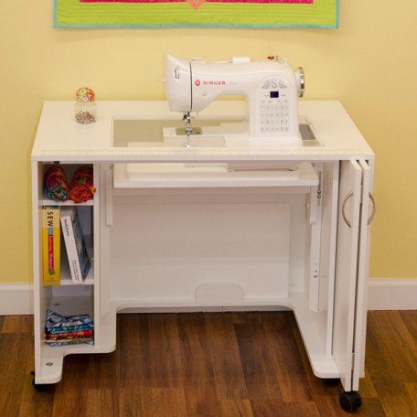 Mod Sewing Lift Cabinet