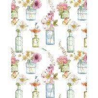 Rainbow Seeds 86422 164 Floral Vases White