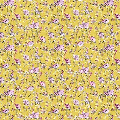 Haute Zahara PWDF267 Mustard - Flamingo