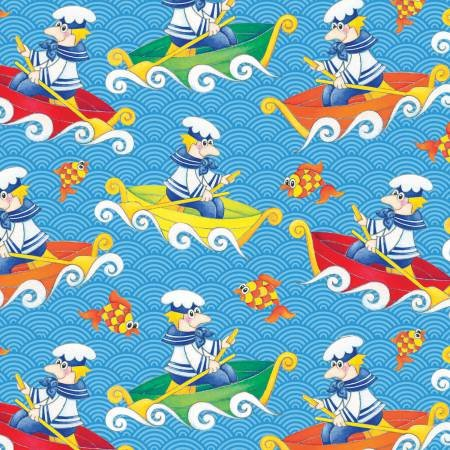 Bedtime Rhymes 6735-11 Blue Sailor
