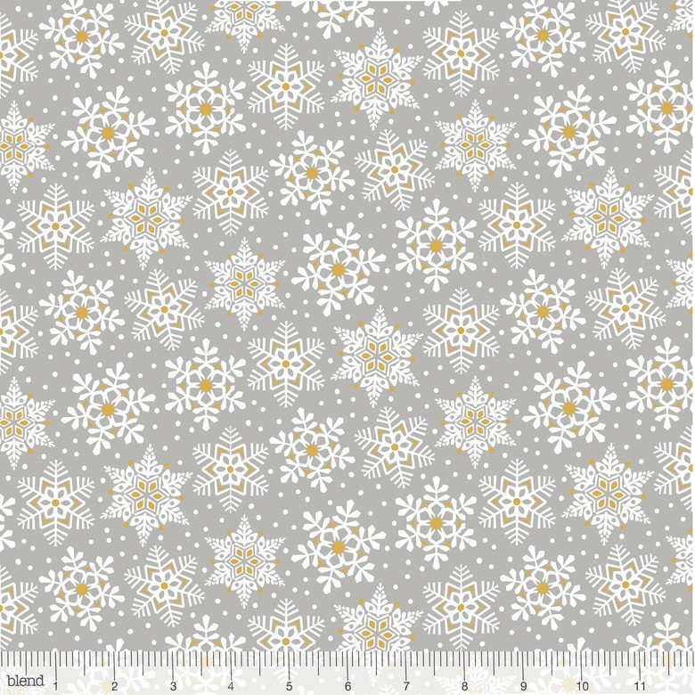 Snowflake Waltz 131.05.1 Land of Snow Gray