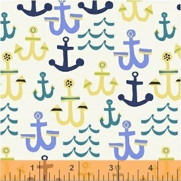 Seaside 42695 3 White Anchors