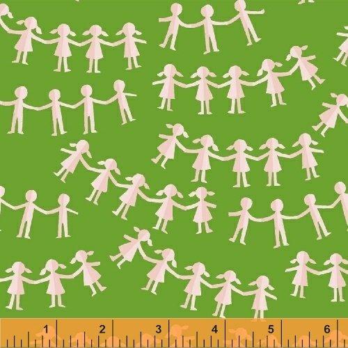 Kinder 43485 6 Green Paper Dolls