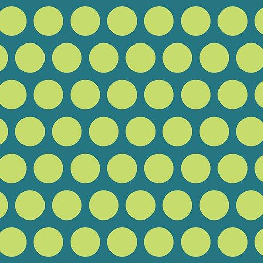 Dot Crazy 6007-54 Large Dot Teal