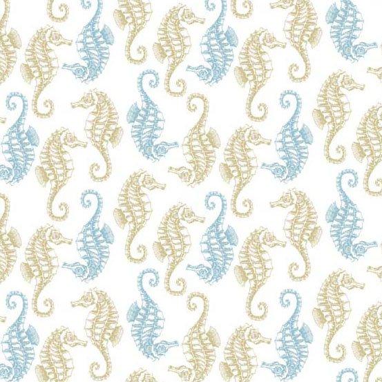 Beachcomber TP-1995-1 Seahorses White