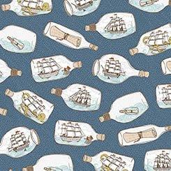 In Deep Ship 26454 W Ships in Bottles Ocean