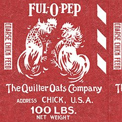 Fowl Play 26467 R Feed Sak Red