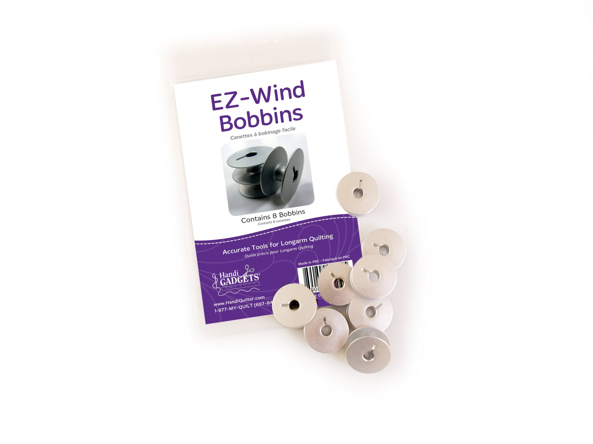 EZ-Wind Slotted Bobbin, 8ct M-Class