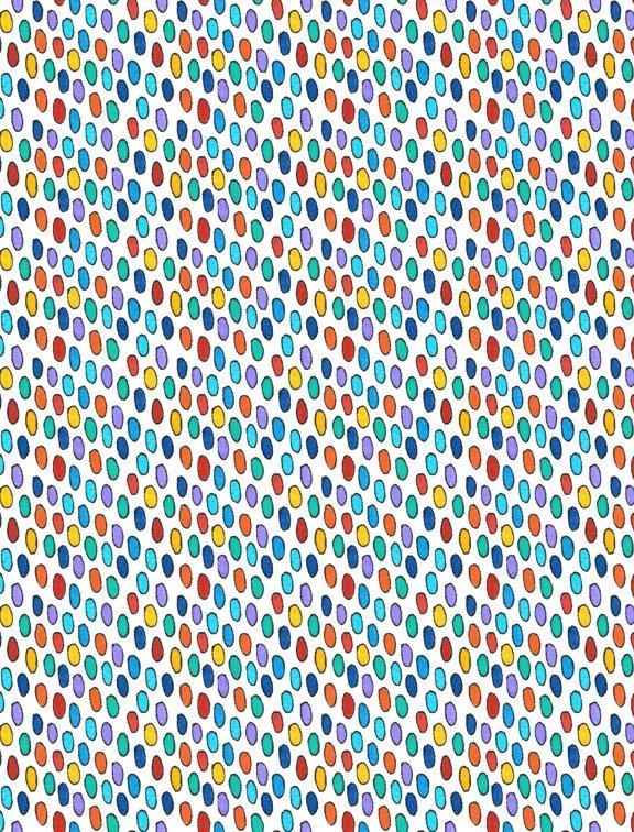 Arctic Wonderland 77618 135 Dots Warm Multi