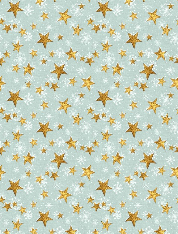 Friendly Gathering 96423 451 Stars Teal