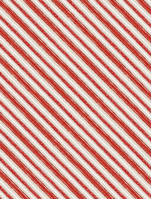 Friendly Gathering 96424 133 Diagonal Stripe Taupe/Red