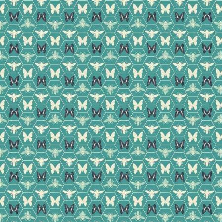 Monarch Grove 26170506-3 Sea Blue Hex