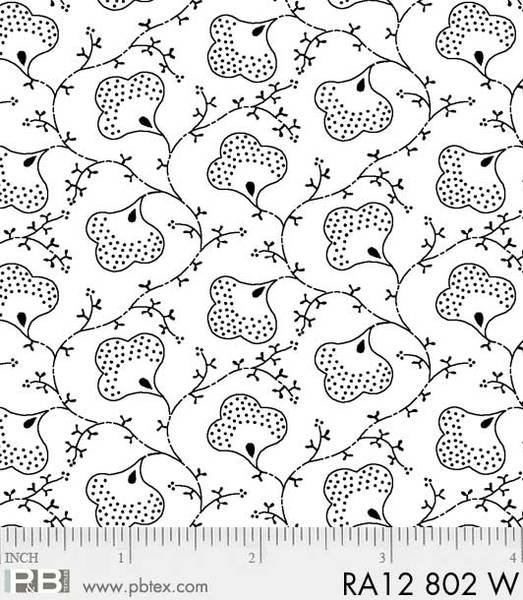 BASIC Ramblings 12 802W Scroll Flower
