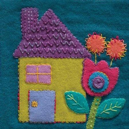 Spargo Pre-cut 6 x 6 Blocks - HOUSE