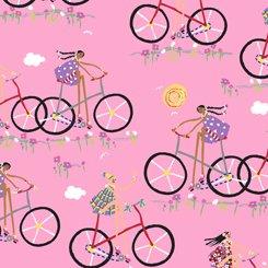 City Gals 26679 P Girls on Bikes Pink