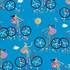 City Gals 26679 Q Girls on Bikes Turquoise