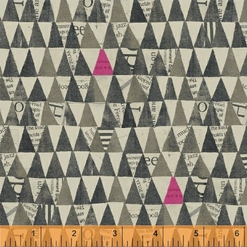 Wonder 50521 5 Charcoal Stacked Triangles