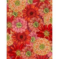 Blossom & Bloom 74202 385 Packed Flowers Red