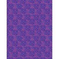 Blossom & Bloom 74206 636 Nouveau Damask Purple