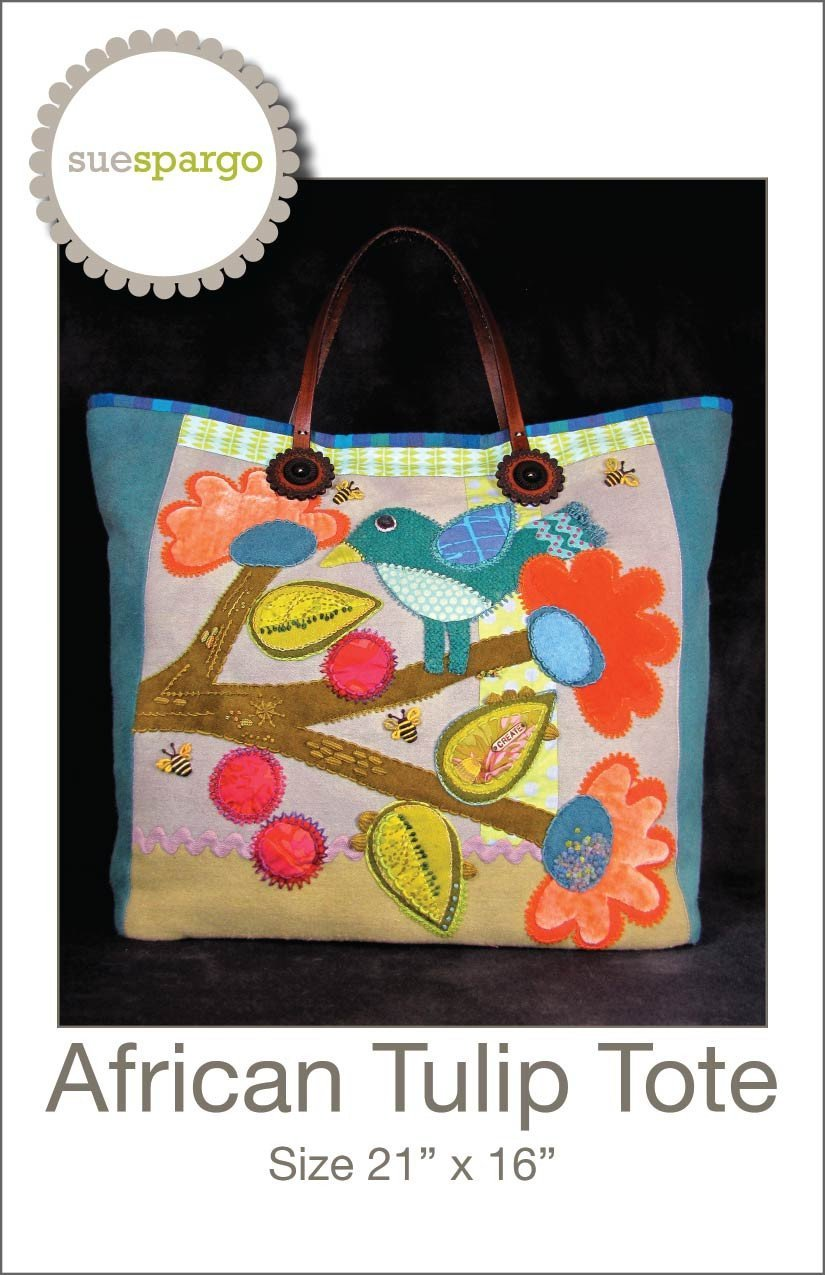 African Tulip Tote Pattern
