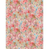 Bohemian Dreams 89195 347 Flower Texture Pink