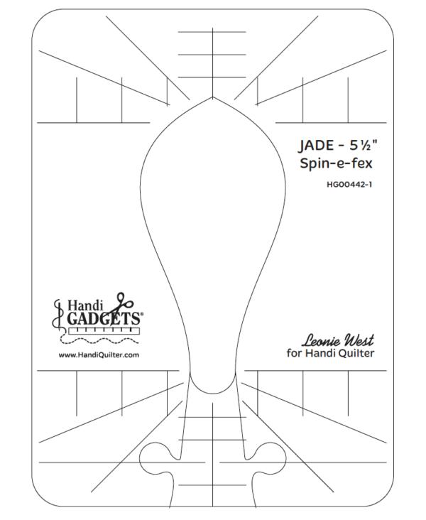 JADE Spin-e-Fex 5.5 Ruler
