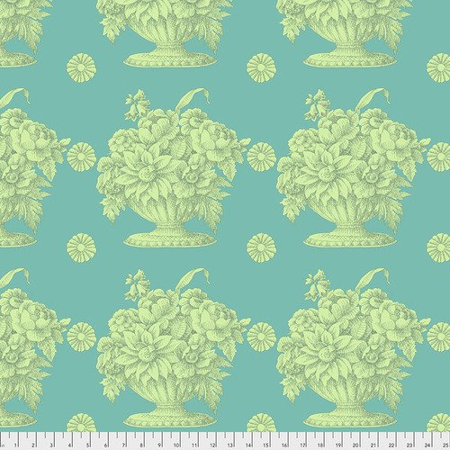 Stone Flower PWGP173 Turquoise - Fall Collective 2018