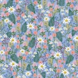 Wildwood RP106-BL1 Wildflowers Blue