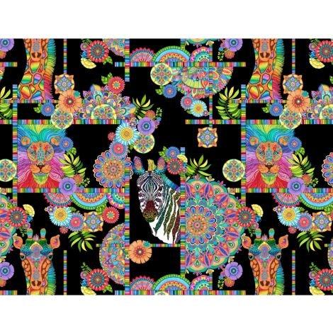 Safari SO Goodie 77630 974 Animals & Medallions Black
