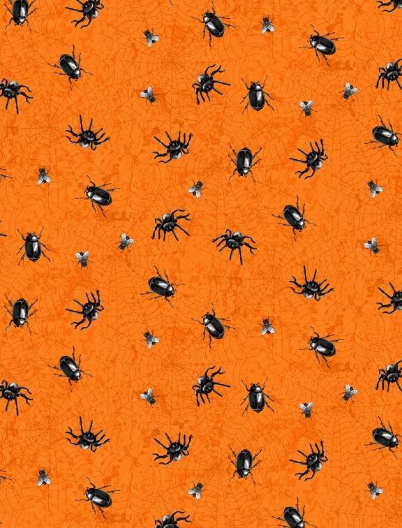 Gone Batty 56064 891 Creepy Crawley Toss Orange