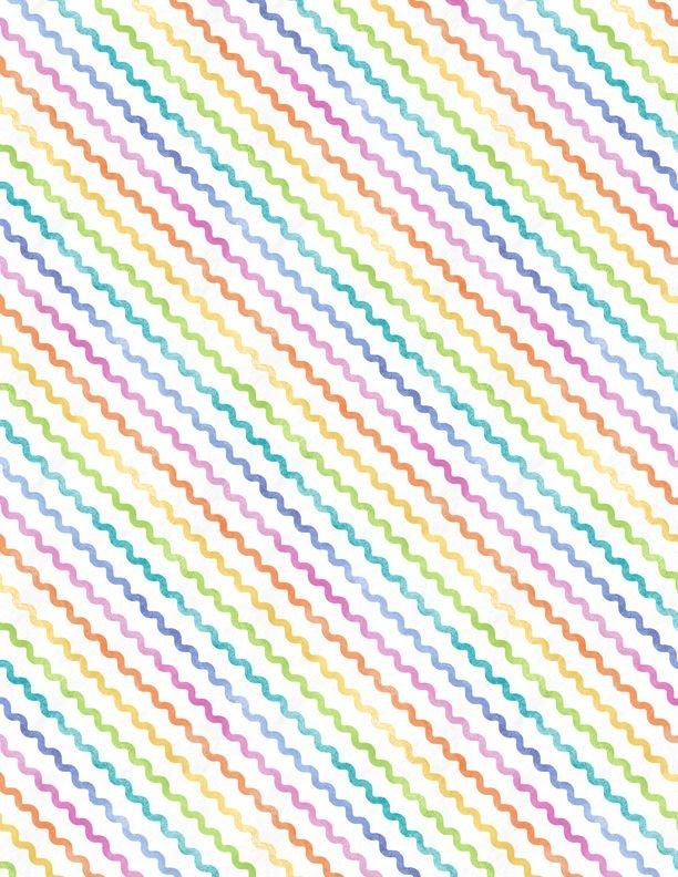 Raindrops & Sunshine 68555-173 Rick Rack Rainbow