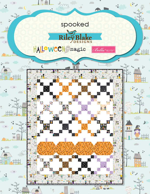 Spooked Quilt and Pattern